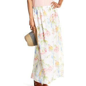 Tommy Bahama weekend Escape maxi floral skirt M